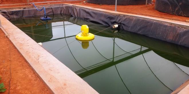 Revestimento de tratamento de água